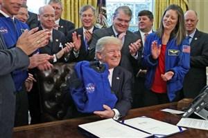ترامپ ماه را از مارس تشخیص نداد!
