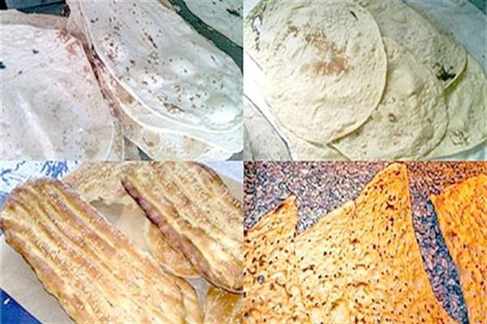 کیفیت نان