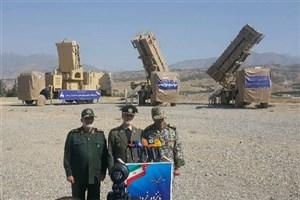 سامانه پدافند هوایی پیشرفته «۱۵ خرداد» رونمایی شد