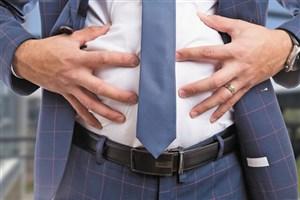 ارتباط بین چربی دور شکم با پروستات