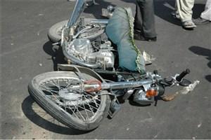 مصدومیت  5 نفردر تصادف مینیبوس با موتورسیکلت و تاکسی