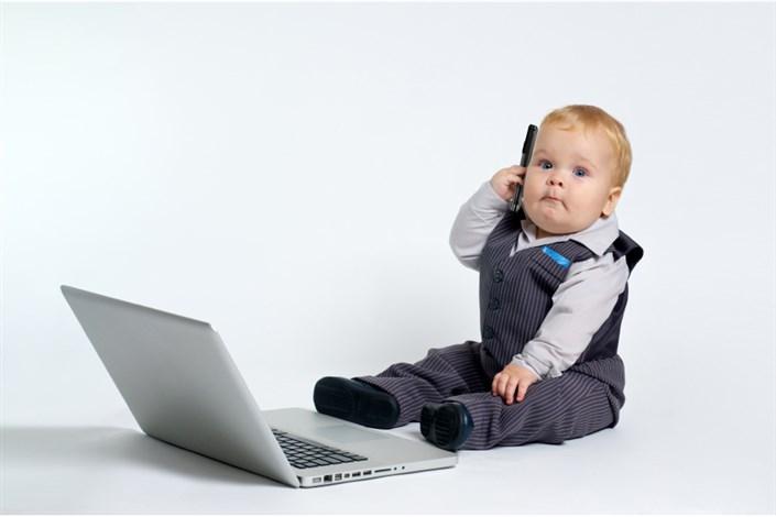 استفاده کودکان از اینترنت