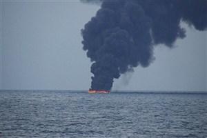 حمله به ۲ نفتکش در دریای عمان/اعزام ناوهای آمریکایی به منطقه