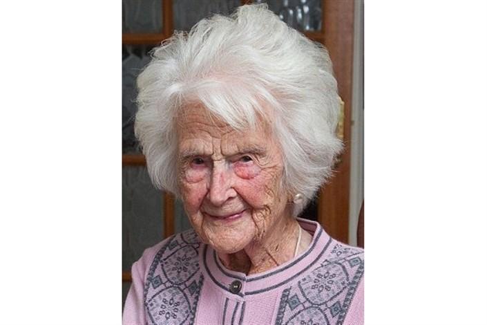 مرگ  گریس جونزپیرترین زن بریتانیا