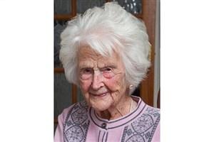 پیرترین  زن بریتانیایی از دنیا رفت+عکس