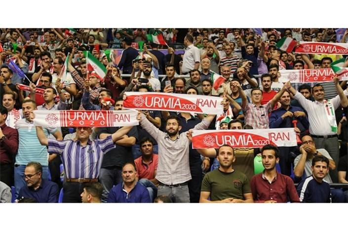 ارومیه میزبان  لیگ ملتهای والیبال