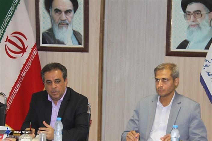 جلسه رئیس بوشهر با مدیران حراست