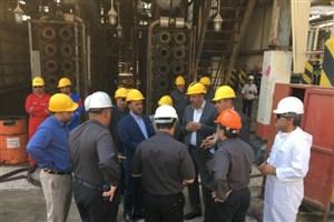 انجام موفقیت آمیز تعمیرات اساسی پالایشگاه روغن سازی ایرانول آبادان پس از 20 سال