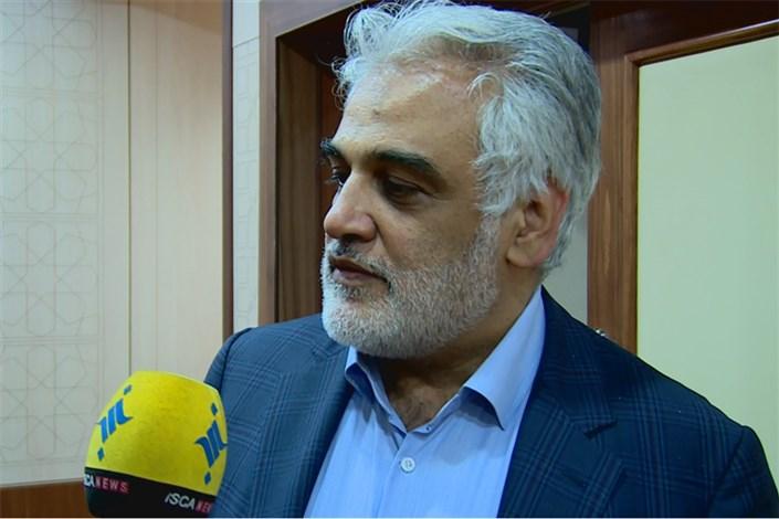 دکتر طهرانچی: کوتاهیها در حق ورزشکاران دانشگاه آزاد اسلامی در شورای عالی ورزش بررسی میشود