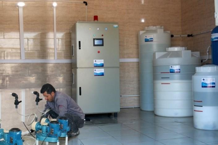 سامانه پیشرفته گندزدایی آب