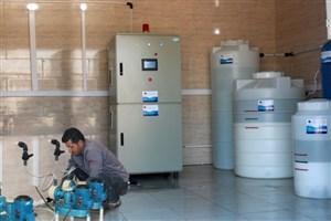 بهرهبرداری از سامانه پیشرفته گندزدایی آب به روش الکترولیز نمک طعام
