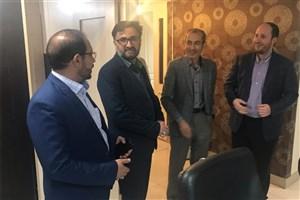 معاون تحقیقات، فناوری و نوآوری دانشگاه آزاد اسلامی  از ایسکانیوز بازدید کرد