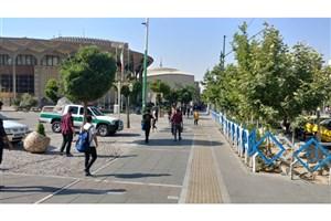 آغازاجرای طرح انضباط شهری در چهارراه ولیعصر و محدوده تئاتر شهر