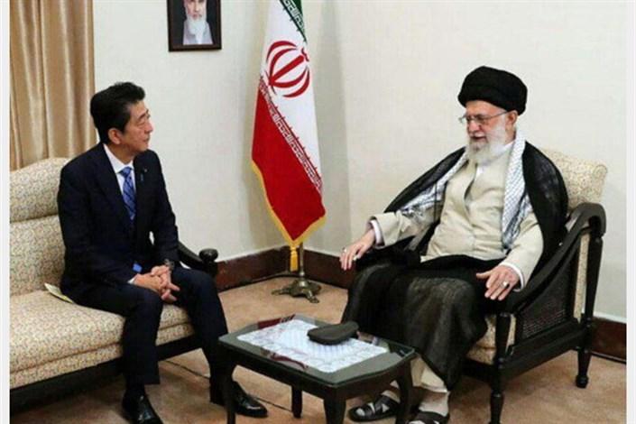 دیدار شینزو آبه با رهبر انقلاب