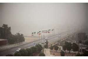 وزش باد و گرد و خاک در سه روز آینده  در تهران
