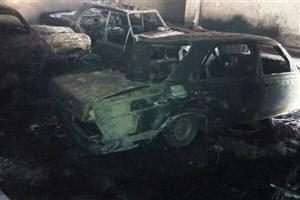 محل نگهداری خودروهای کلاسیک آتش گرفت/مالک ساختمان فوت کرد