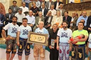 مراسم روز ملی فرهنگ پهلوانی برگزار شد/تجلیل از خانواده شهید جمشیدی