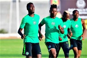 بازیکن نیجریه قبل از شروع بازی در جام ملتهای آفریقا سکته کرد