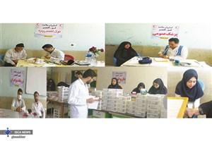خدمت رسانی کادر درمانی واحد قم به 1700 نفر در مناطق سیل زده