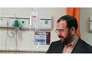 عیادت معاون پارلمانی رئیسجمهور از خبرنگار فارس