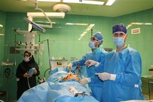 اولین عمل جراحی لاپاروسکوپی دربیمارستان امام سجاد(ع) با موفقیت انجام شد