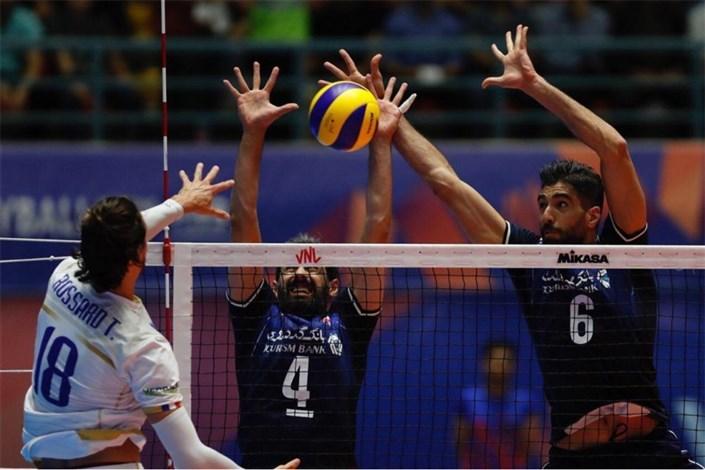 والیبال ایران- فرانسه