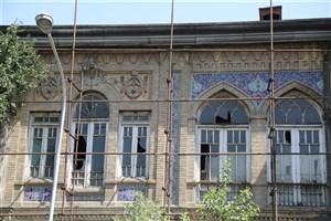 مرمت عمارت تاریخی گلستانه در حصار ناصری آغاز شد