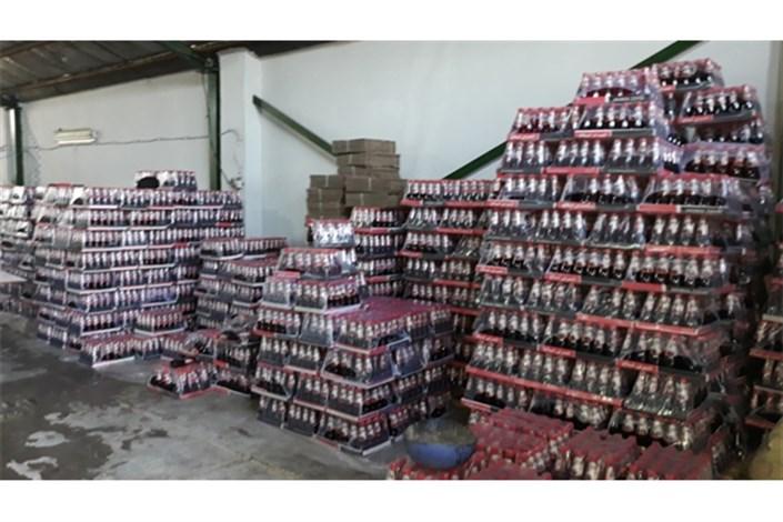 پلمب کارگاه تولیدآبمیوه غیر بهداشتی