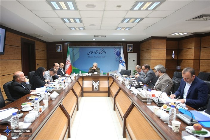 جلسه شورای عالی ورزش دانشگاه آزاد اسلامی