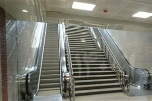 هنوز مشکل پلههای برقی و آسانسور ایستگاه مترو شادمان حل نشده است