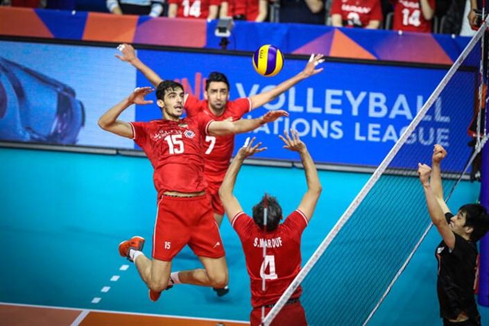 شکست  ایران  از تیم بیستاره آمریکا