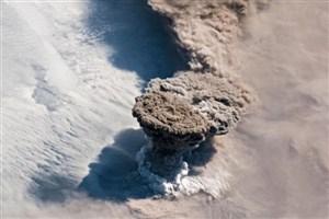 فوران آتشفشان جزایر کوریل