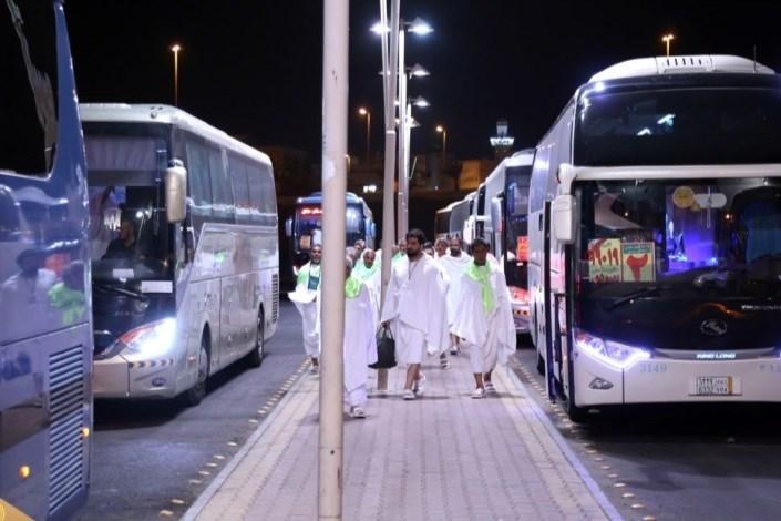 حمل و نقل حجاج در مکه