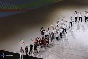 رژه کاروان ایران در افتتاحیه مسابقات یونیورسیاد ۲۰۱۹/ خدمتی پرچمدار ایران شد