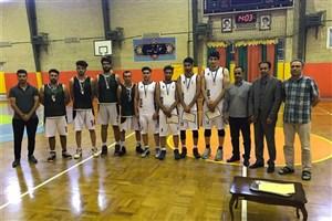 راهیابی تیم بسکتبال واحد اهر به مسابقات سراسری دانشجویان دانشگاه آزاد