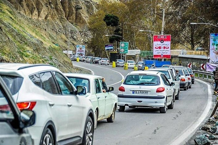 جاده مرزن آباد یک طرفه شد