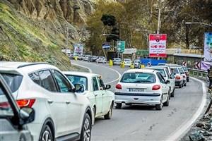 ترافیک سنگین در جادههای شمالی/ محور مرزنآباد به تهران از ساعت 19 یکطرفه میشود