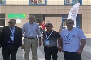 دیدار دهخدا با رئیس فدراسیون جهانی ورزش دانشگاهی در ایتالیا