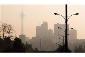 افزایش میزان آلاینده ازن در تهران/۷۴ هکتار از اراضی استان تهران با پدیده گرد و غبار مواجه است