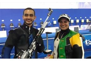 تیم میکس تفنگ دانشجویان مدال طلا کسب کرد