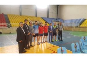 قهرمانی تیم دانشگاه آزاد اسلامی بابل در مسابقات تنیس روی میز استان مازندران