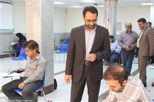 حضور ۳۰۰ داوطلب آزمون جامع دکتری در دانشگاه آزاد اسلامی واحد نجفآباد