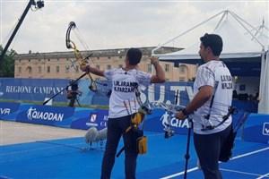 تیم کامپوند پسران ایران نایبقهرمان جهان شد