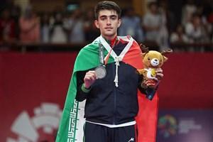 افتخارِ ورزشی دیگر برای دانشگاه آزاد میانه/ دانشجوی واحد میانه، قهرمان مسابقات تکواندوی دانشجویان جهان شد