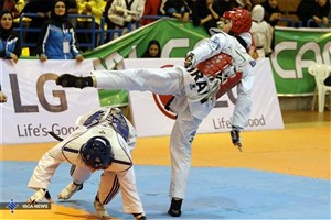 Rasht IAU Student Becomes Champion in Taekwondo at Naples 2019