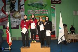 درخشش دانشجویان دختر واحد شاهرود در مسابقات بدمینتون دانشگاه آزاد اسلامی