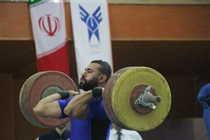 تیم دانشگاه آزاد اسلامی در رتبه دوم لیگ وزنهبرداری قرار گرفت