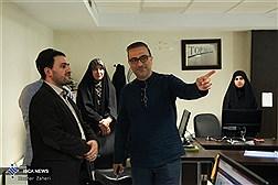 بازدیدمدیر روابط عمومی وزارت ارتباطات ازخبرگزاری ایسکانیوز
