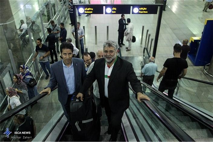 بازگشت کاروان دانشجوی ایران از مسابقات  یونیورسیاد