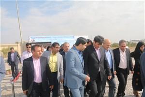 سیستم جامع آبیاری هوشمند دانشگاه آزاد اسلامی یزد به بهرهبرداری رسید